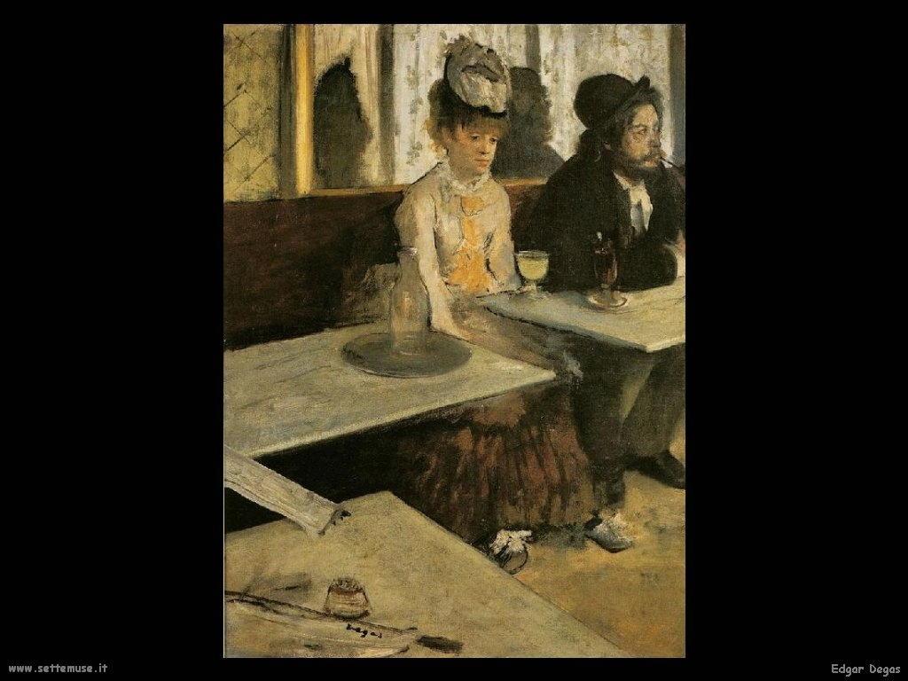 Edgar Degas _assenzio_1876