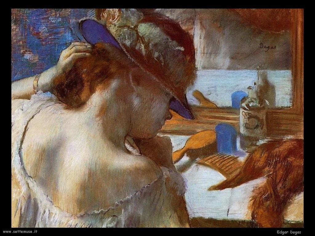 Edgar Degas Toilette