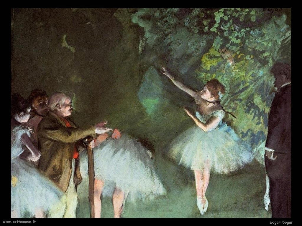 Edgar Degas Maestro di danza