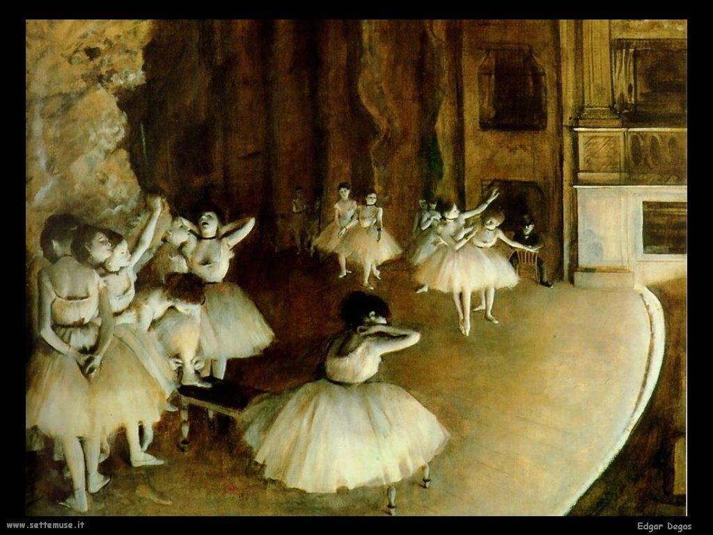 Edgar Degas Il Balletto