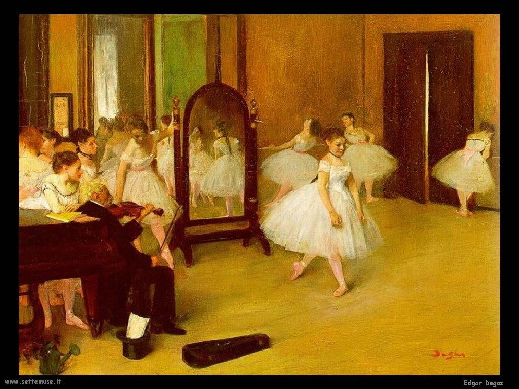 Edgar Degas Scuola di danza