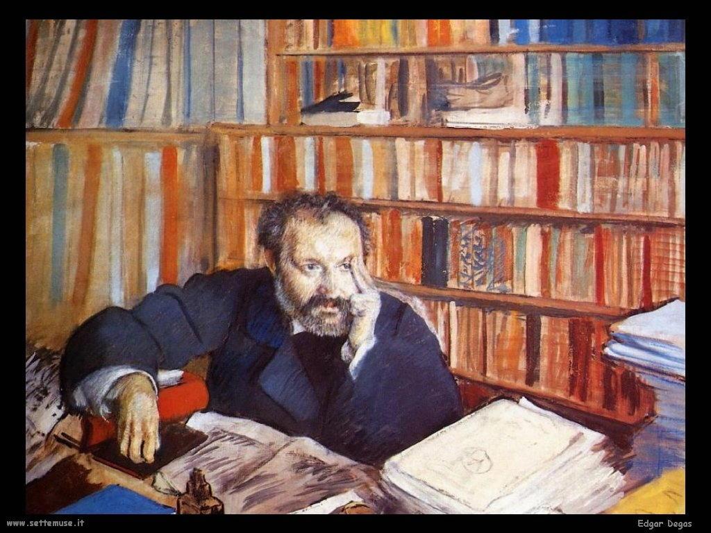 Edgar Degas _ritratto_edmond_duranty_1879