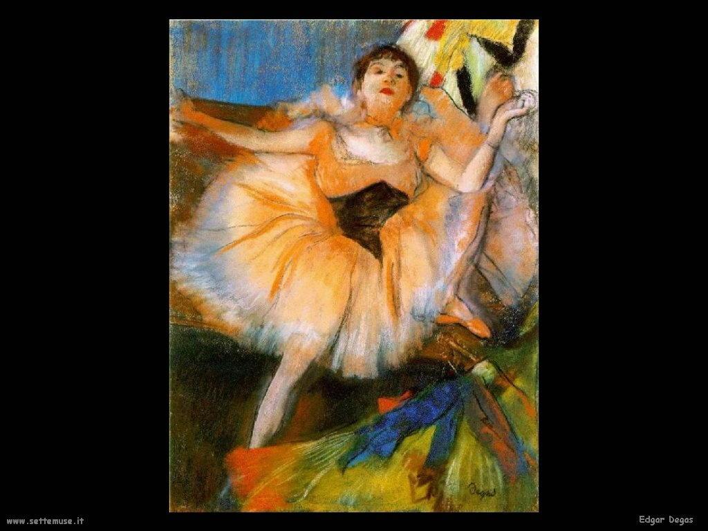 Edgar Degas_ballerina_seduta_1879