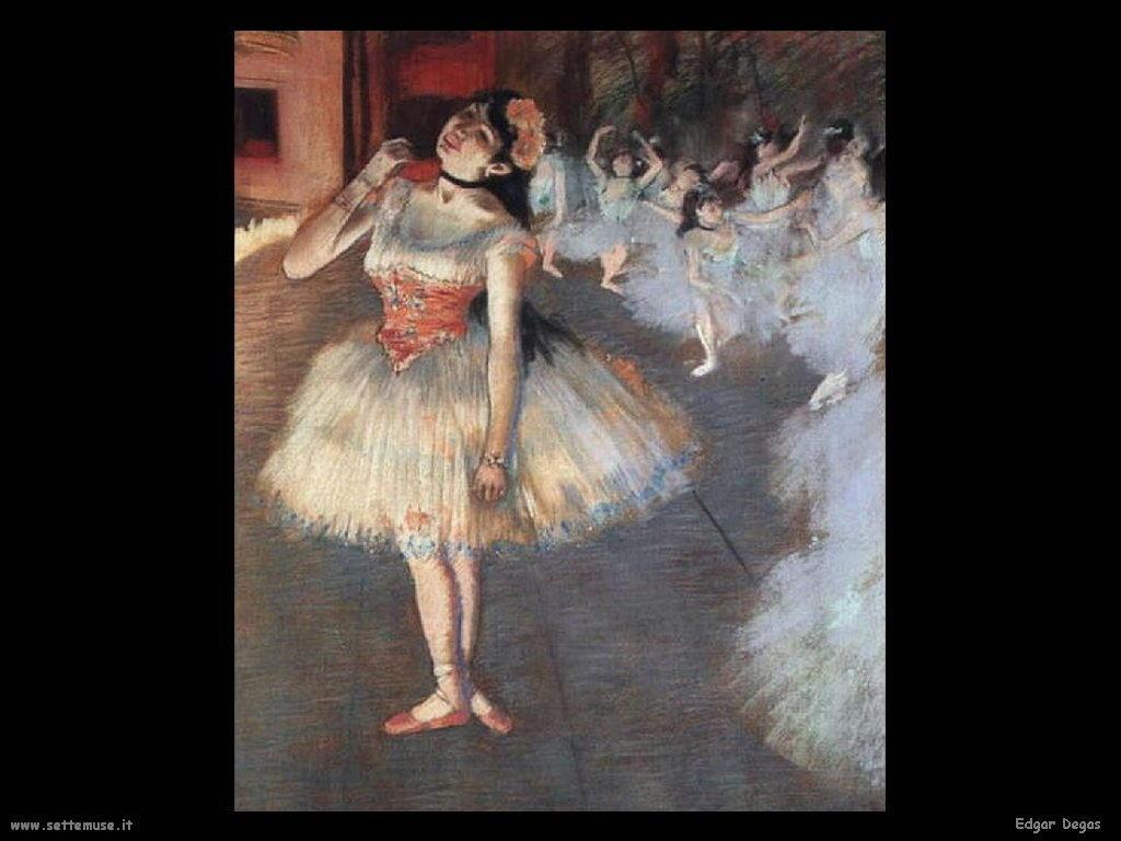Edgar Degas la danzatrice
