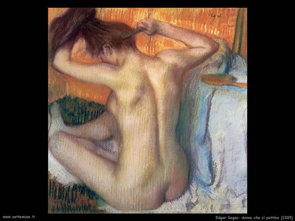 Edgar Degas_donna_che_si_pettina_1885