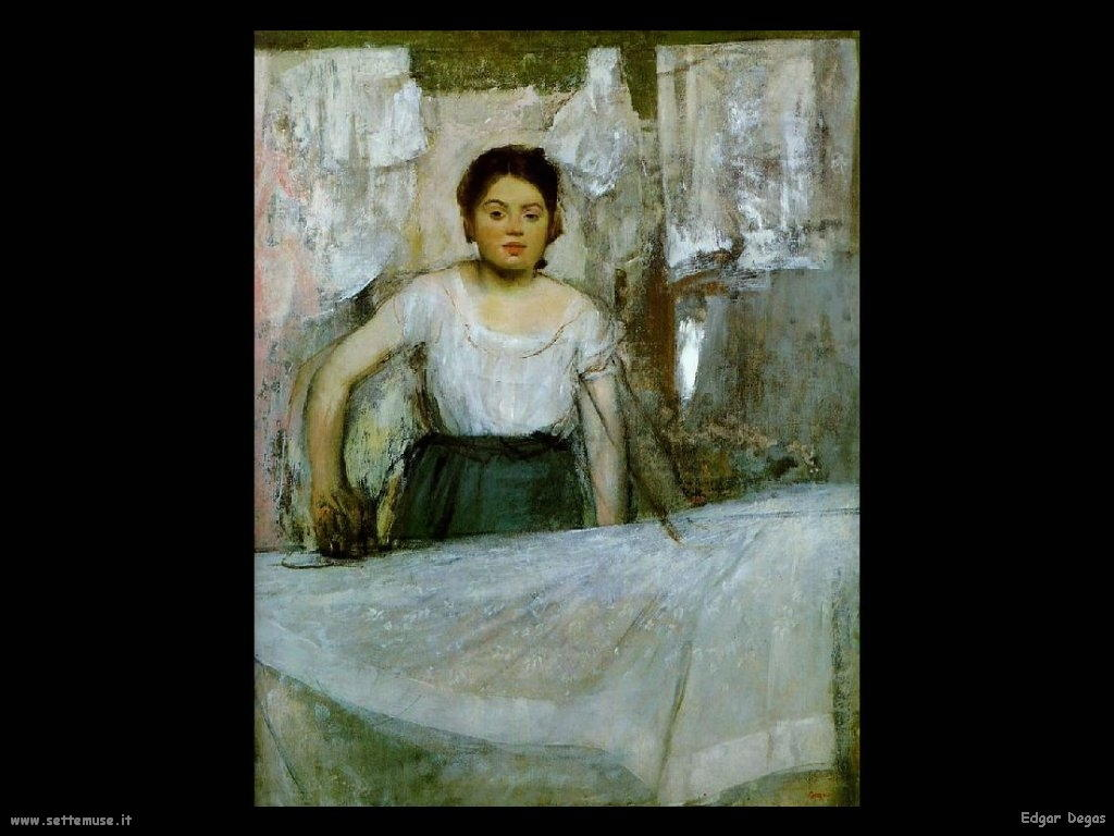 Edgar Degas _stiratrice_1869