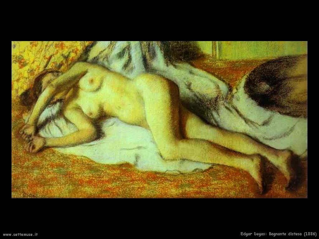 Edgar Degas_bagnante_distesa_1886
