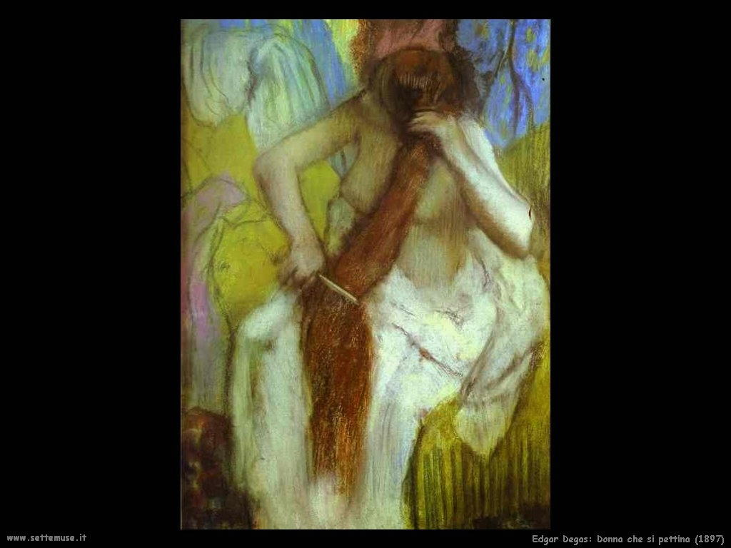 Edgar Degas_donna_che_si_pettina_1897