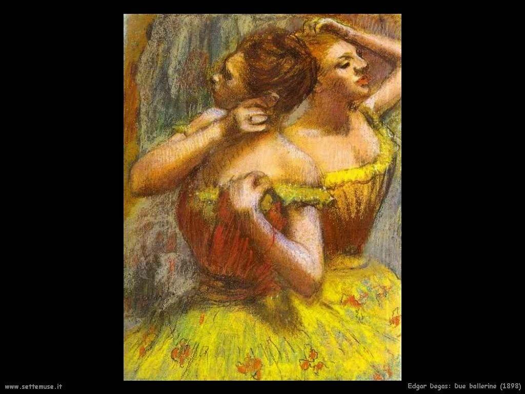 Edgar Degas_due_ballerine_1898