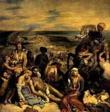 Dipinto di Eugene Delacroix