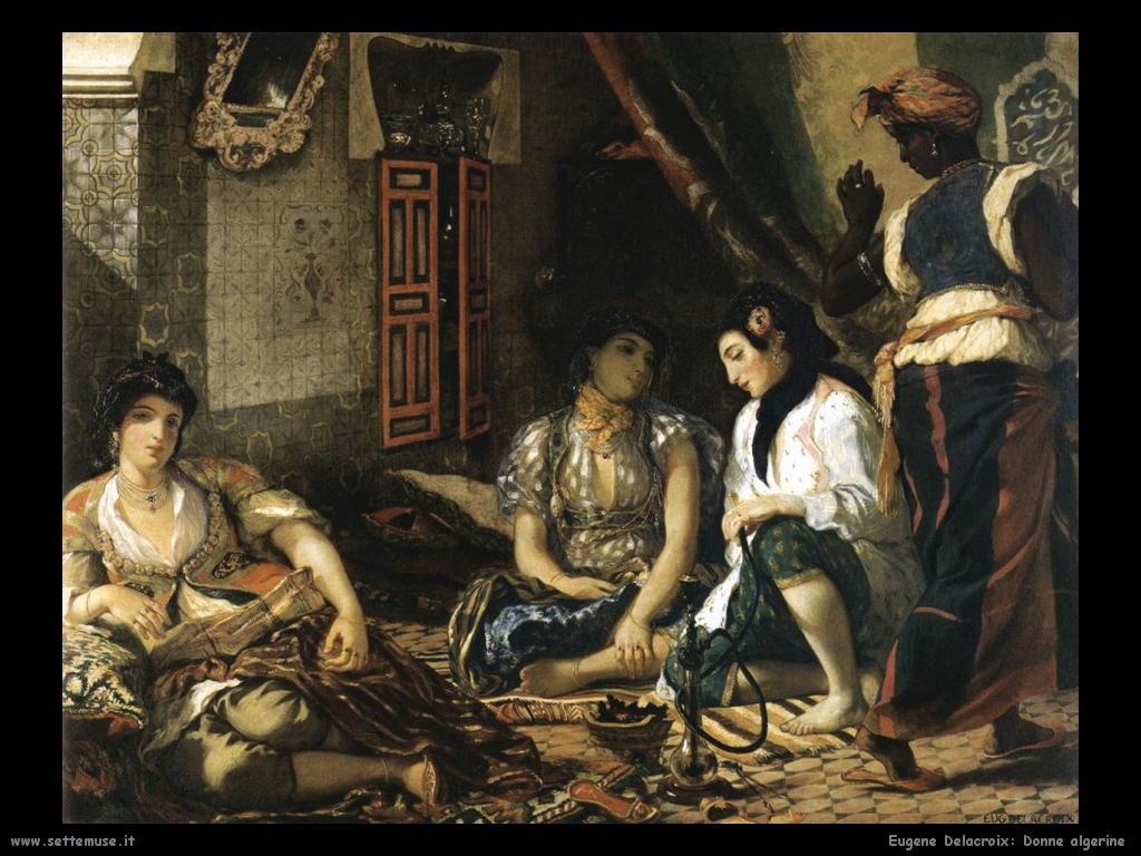 Eugène Delacroix_donne_algerine_1834