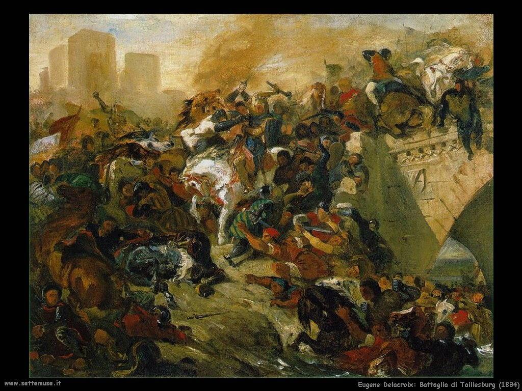 Eugène Delacroix_battaglia_di_taillesburg_1834