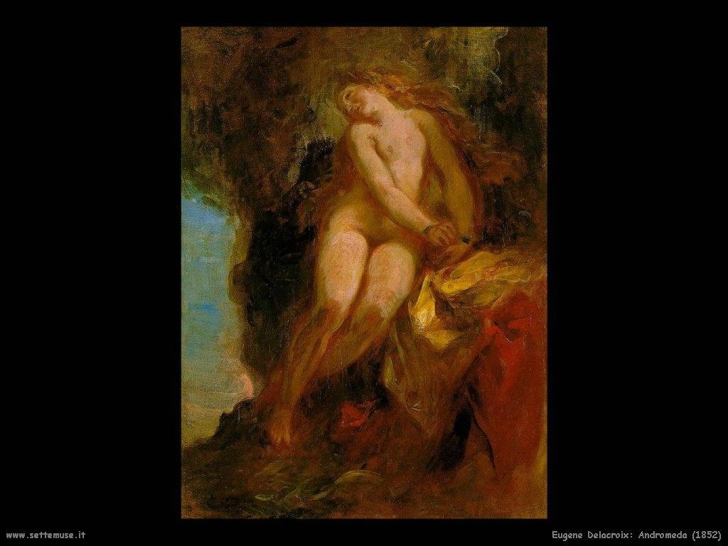 Eugène Delacroix_andromeda_1852