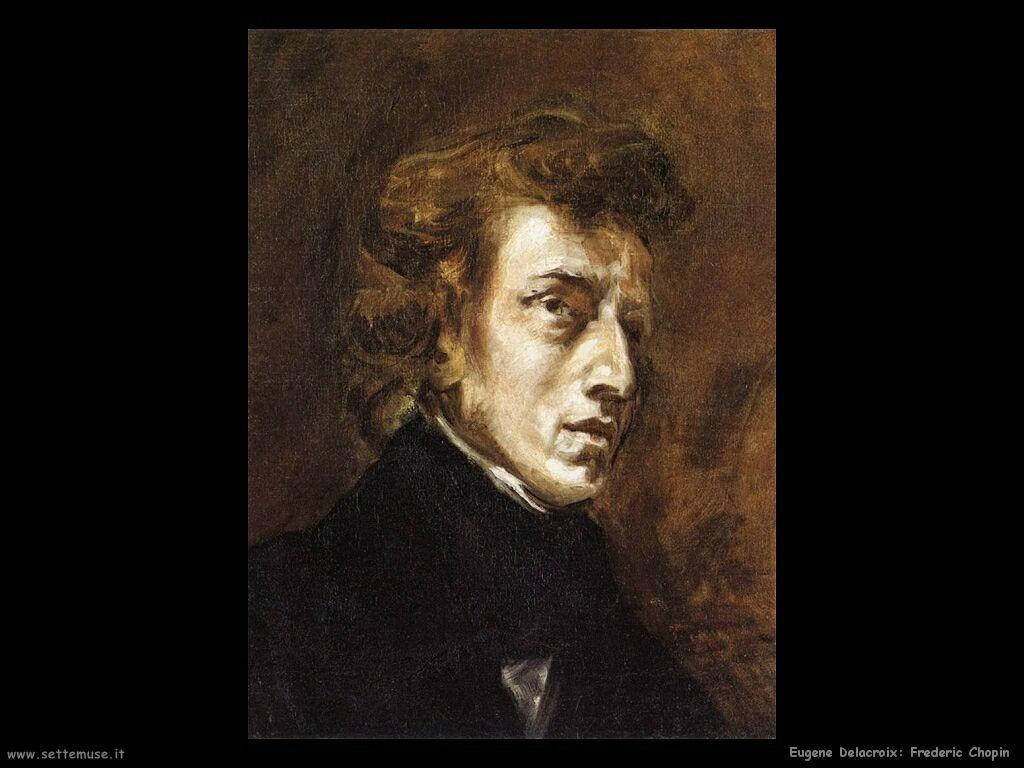 Eugène Delacroix frederic chopin