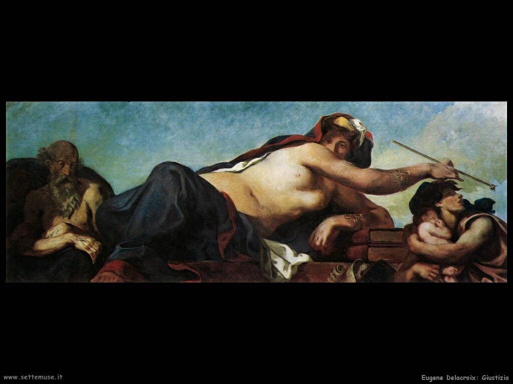 Eugène Delacroix giustizia