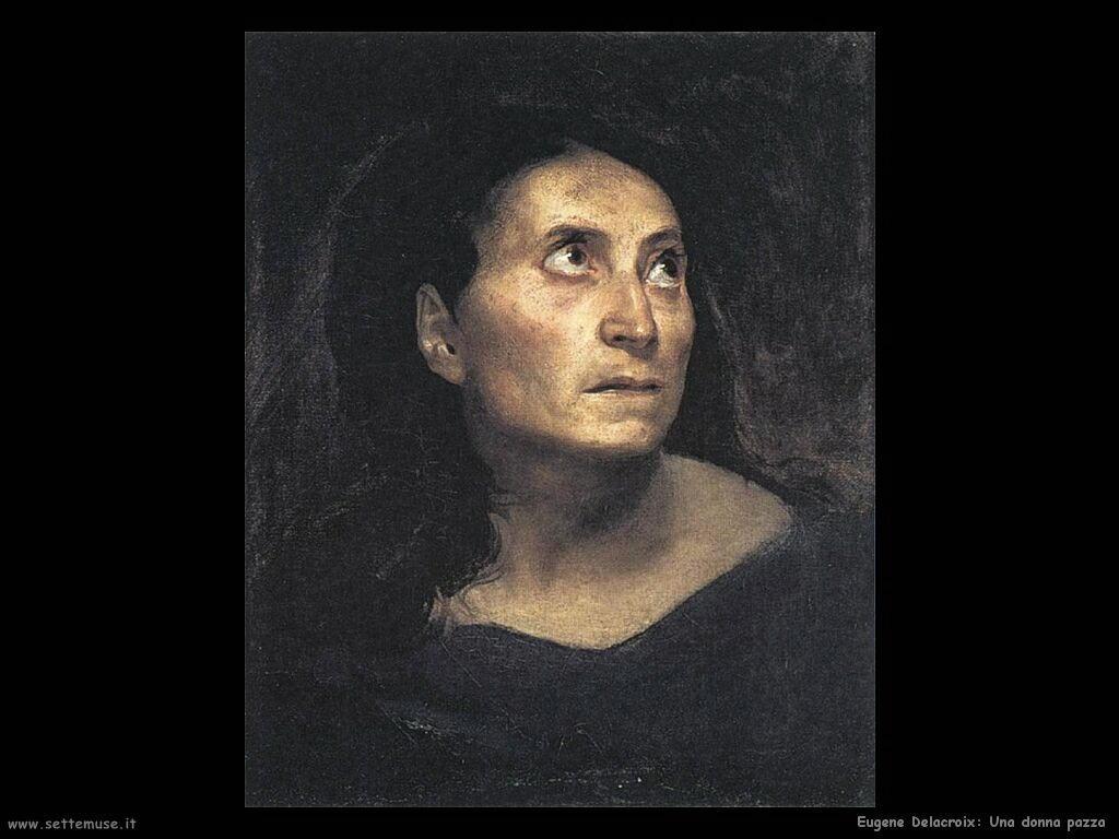 Eugène Delacroix donna pazza