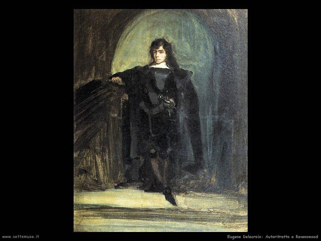 Eugène Delacroix Autoritratto a Ravenswood