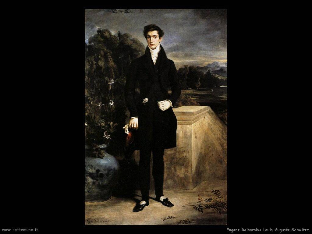 Eugène Delacroix louis auguste schwiter