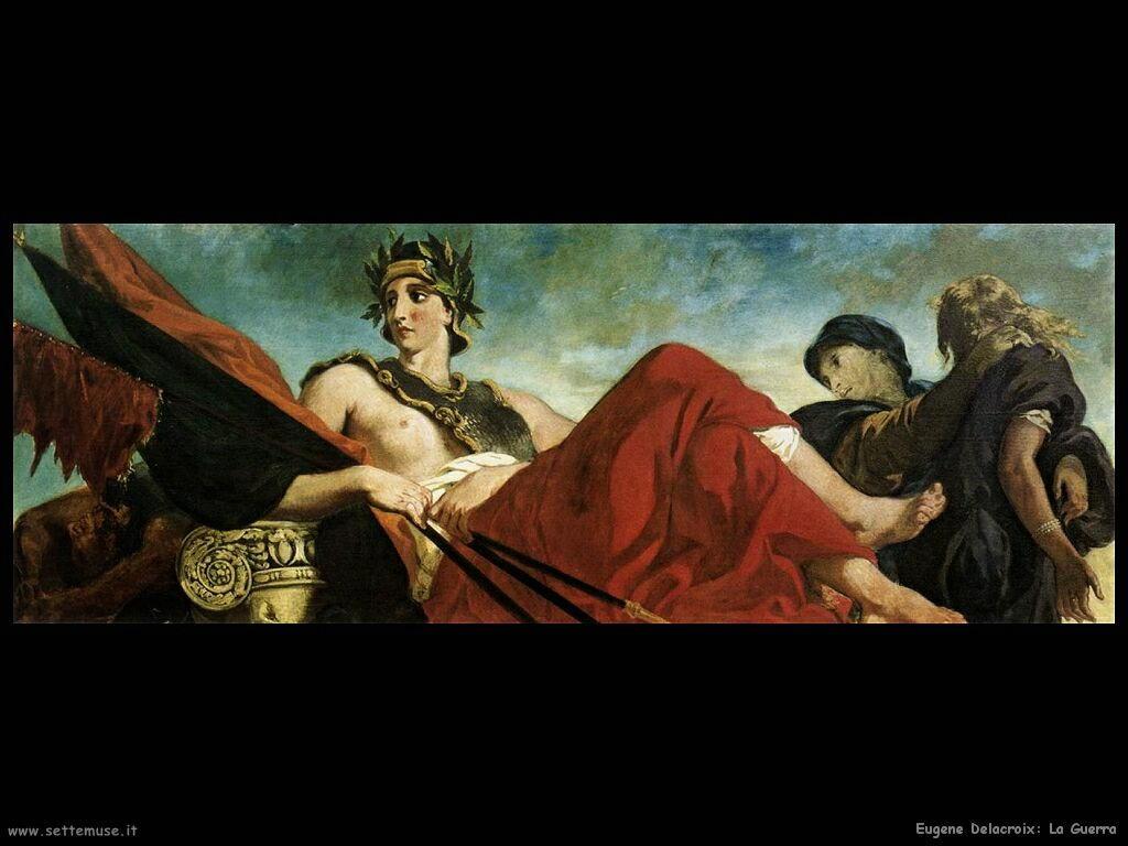 Eugène Delacroix Guerra