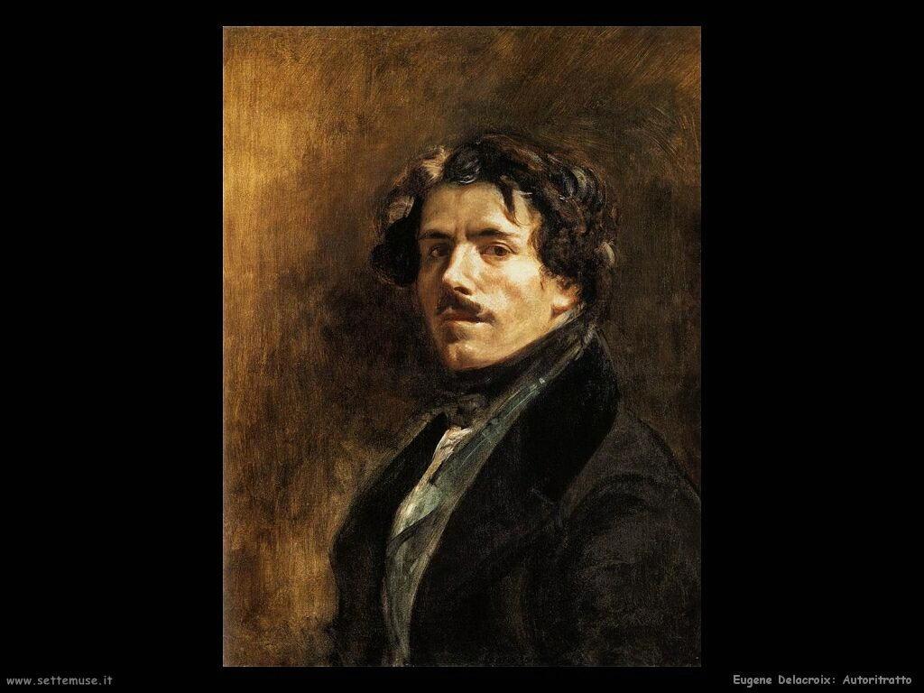 Eugène Delacroix Autoritratto