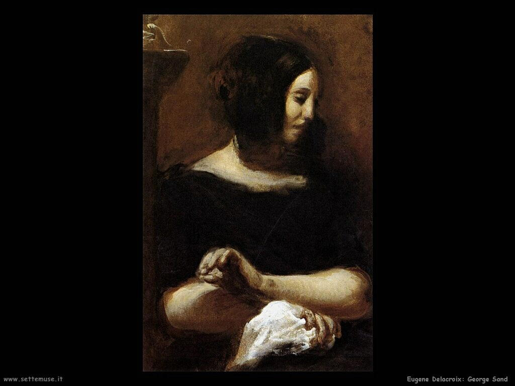 Eugène Delacroix George Sand