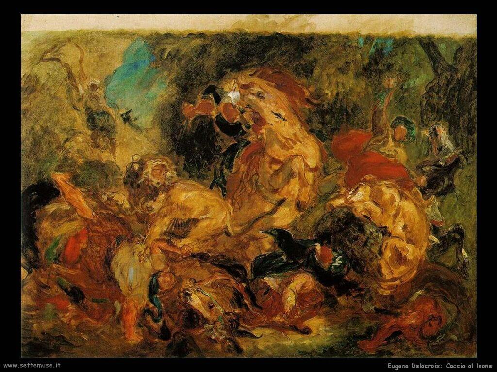 EUGENE DELACROIX pittore biografia opere quadri   Settemuse.it