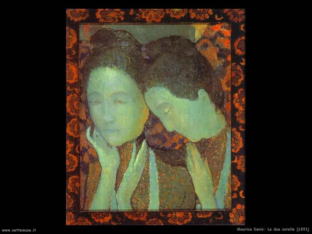 maurice_denis_le_due_sorelle_1891
