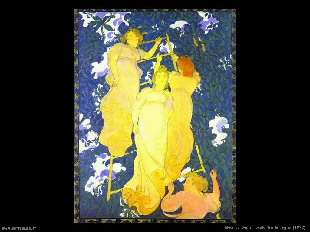 maurice denis_scala_tra_le_foglie_1892