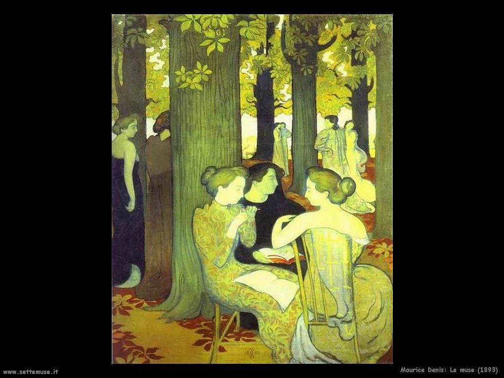 maurice denis_le_muse_1893
