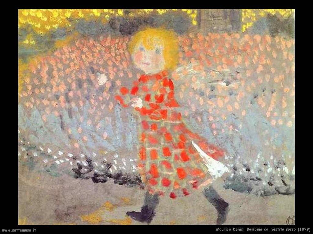 maurice_denis_bambina_col_vestito_rosso_1899