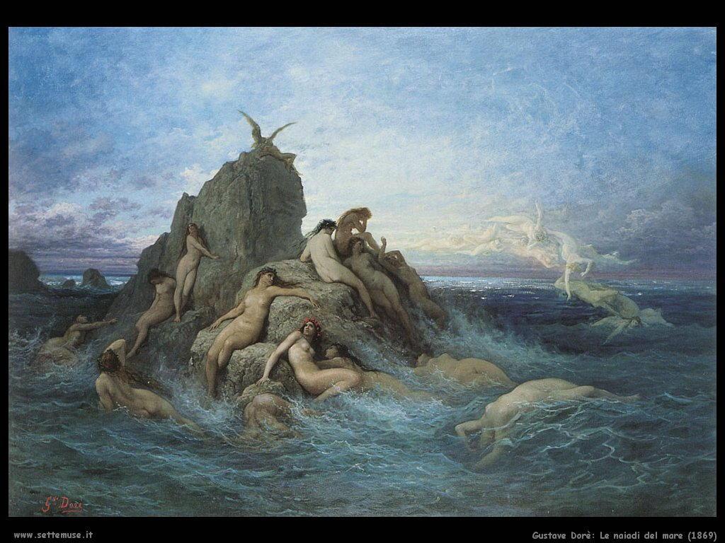 Dore Le naiadi del mare 1869