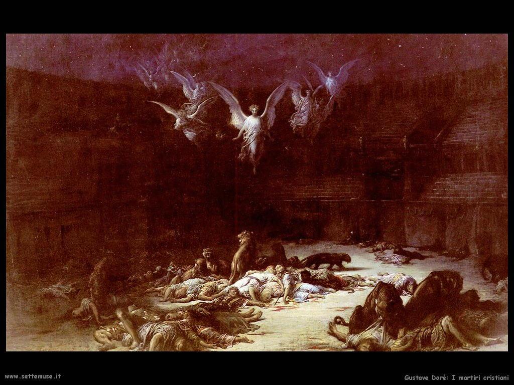 Dore I martiri cristiani