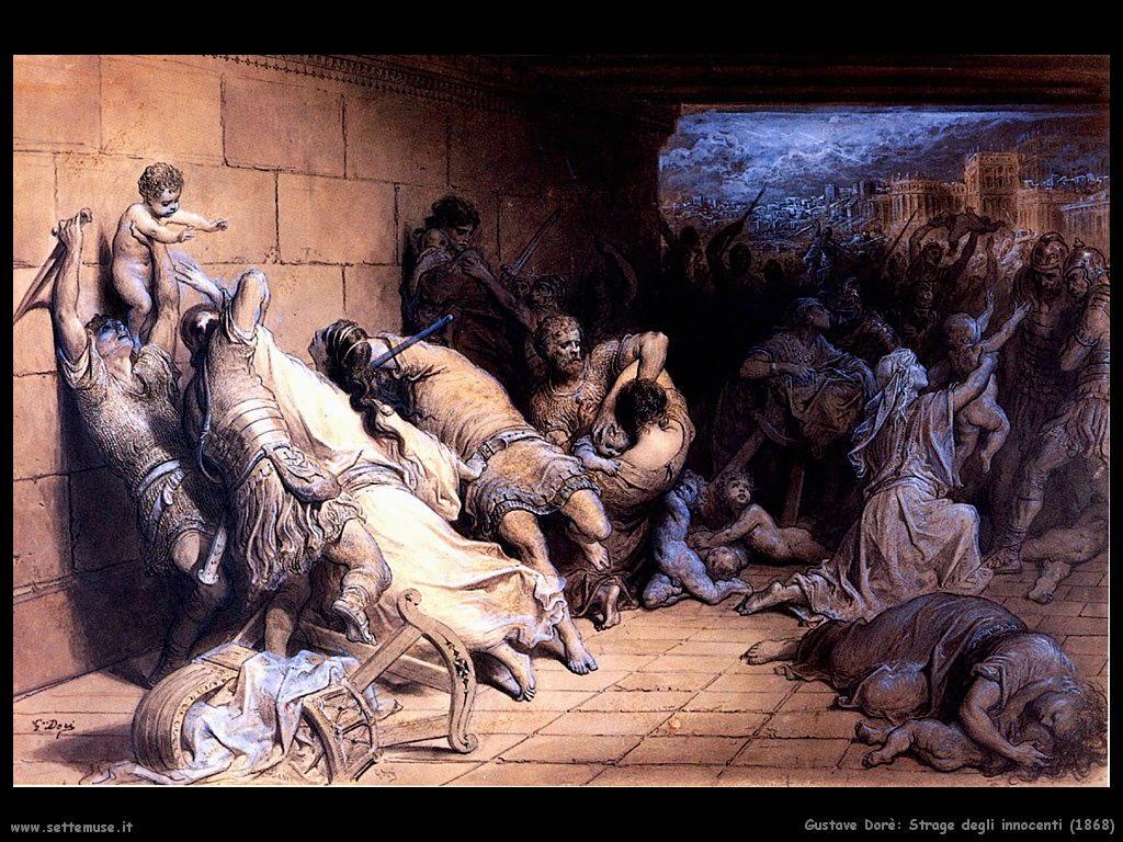 Dore La strage degli innocenti 1868
