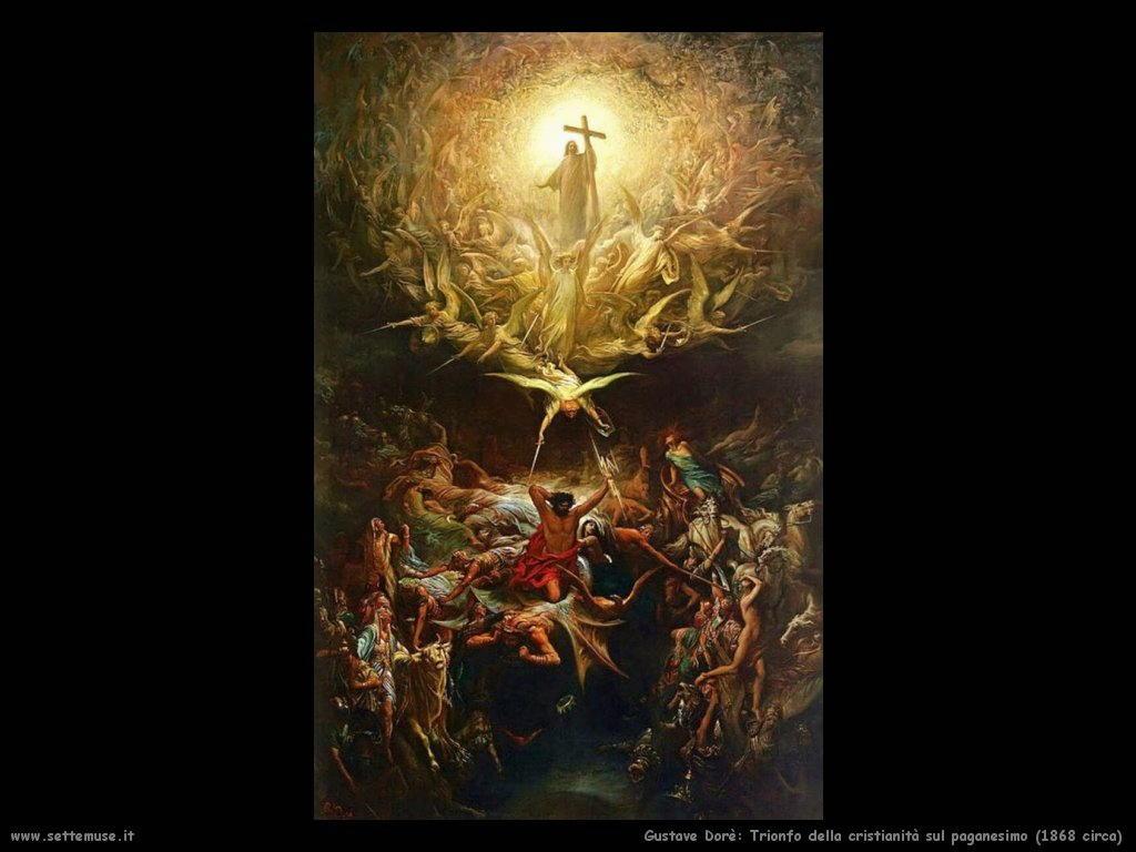 Dore Trionfo della cristianita sul paganesimo 1868