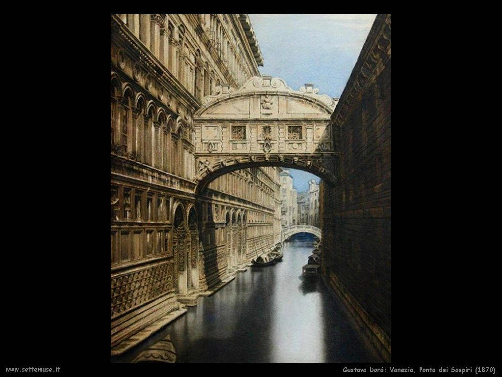Dore ponte dei sospiri 1870
