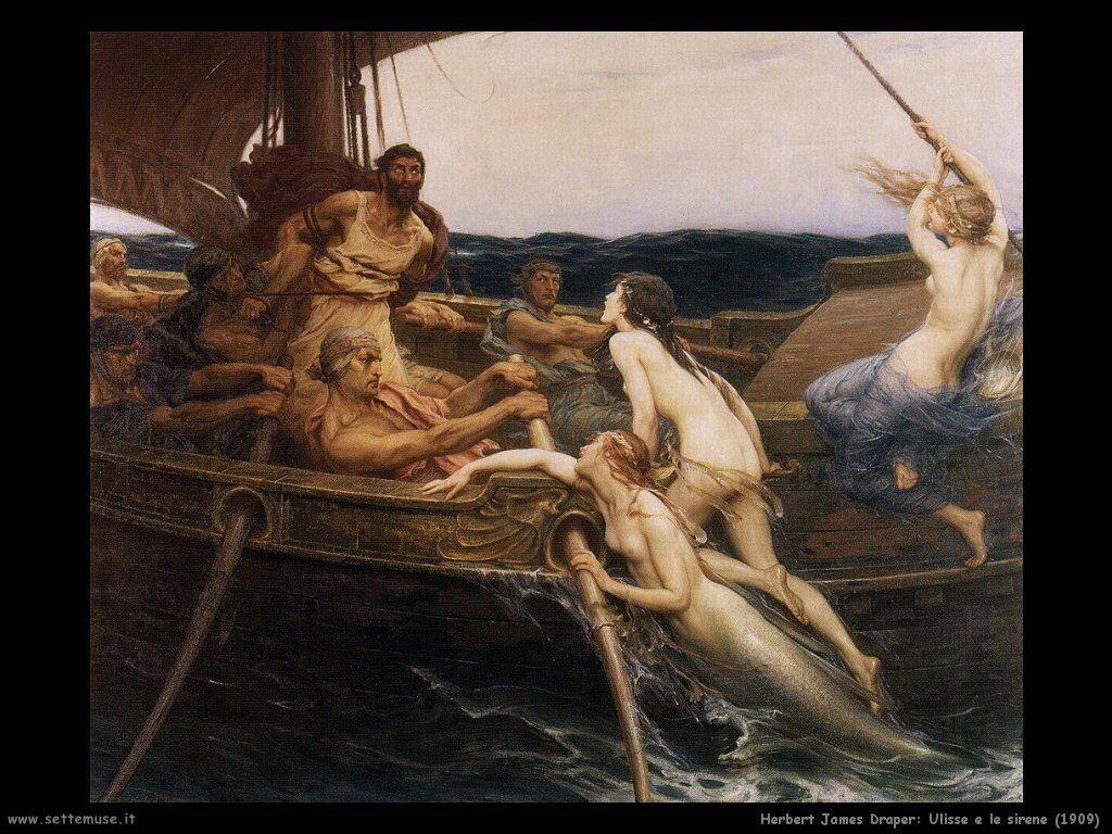 herbert_james_draper ulisse_e_le_sirene 1909