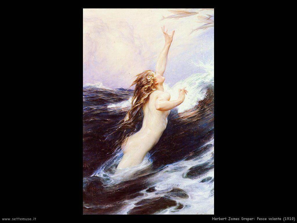 herbert_james_draper_010_pesce_volante_1910