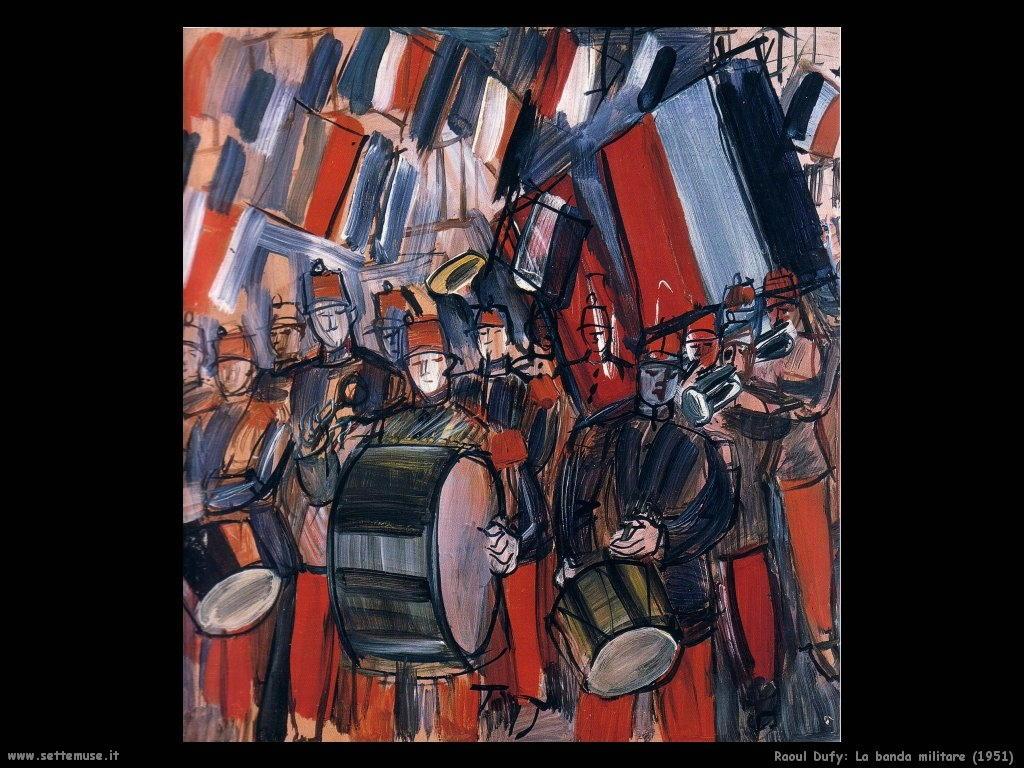 raoul_dufy_la_banda_militare_1951
