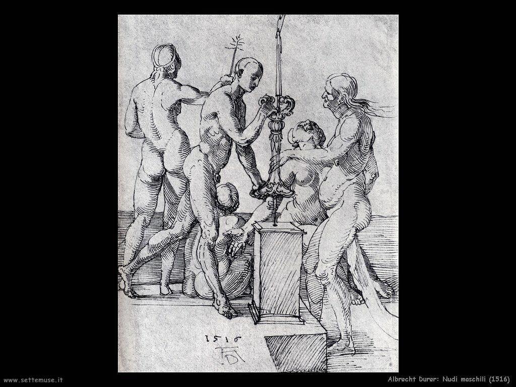 Nudi maschili e femminili (1516)