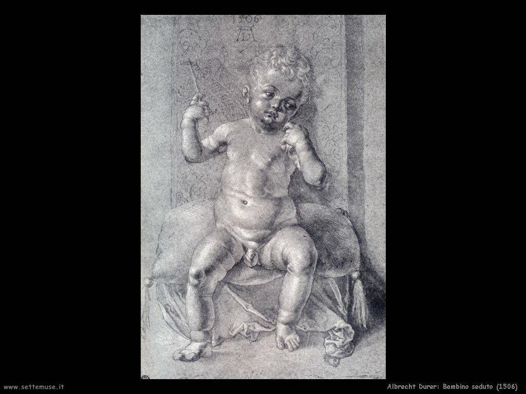 Bambino seduto (1506)
