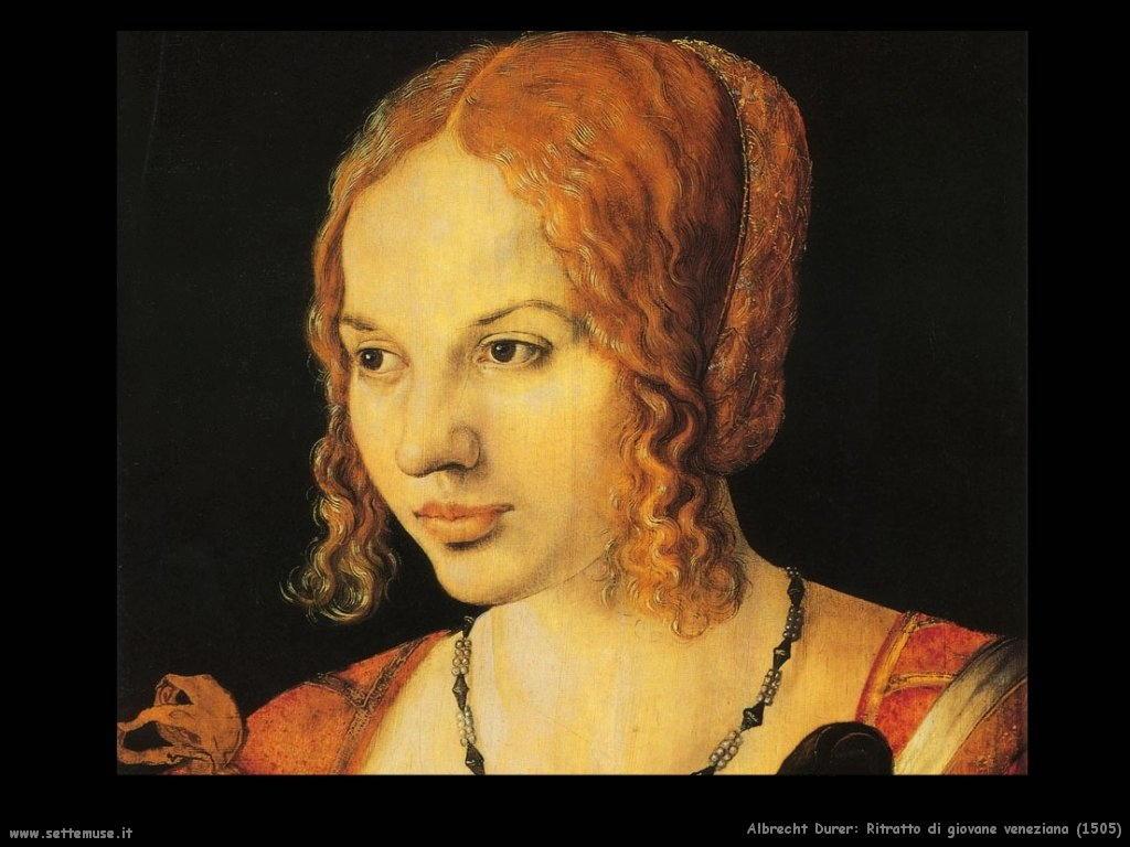 Ritratto di giovane veneziana (1505)