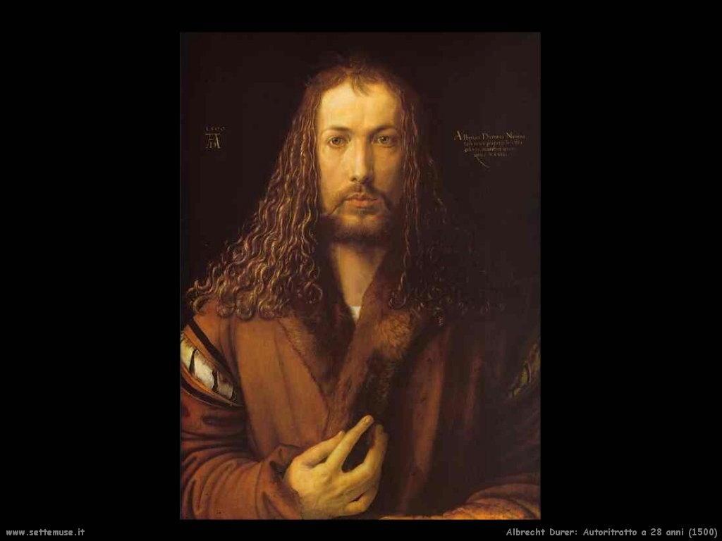 Autoritratto a 28 anni (1500)