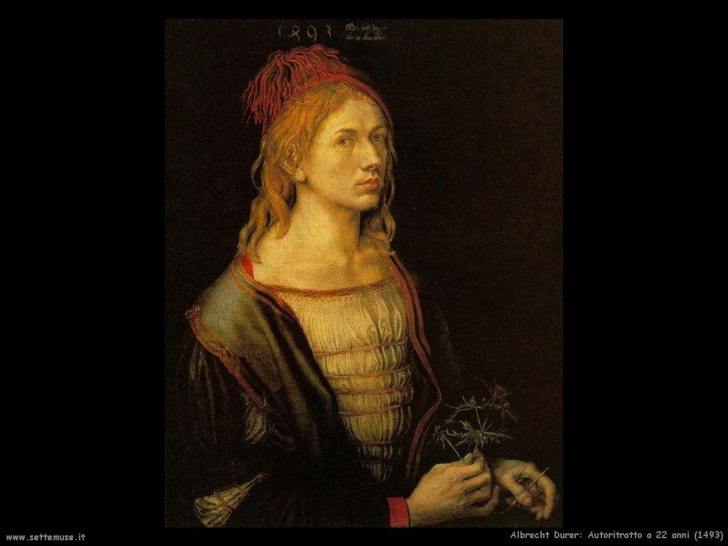 Autoritratto a 22 anni (1493)