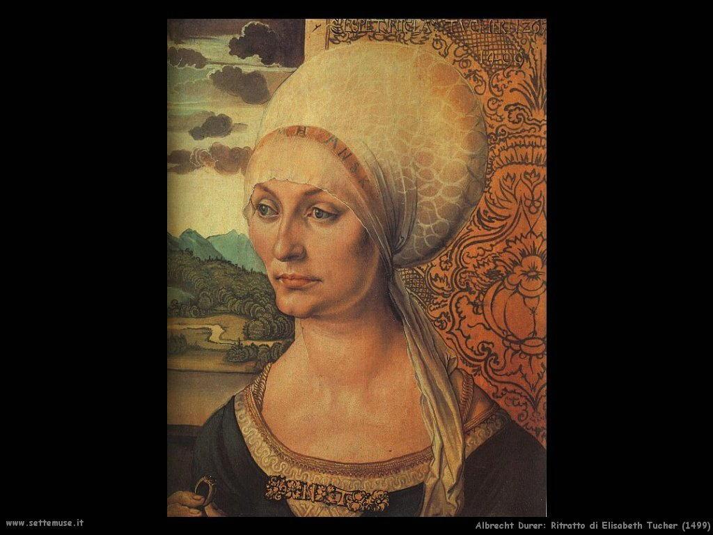 Ritratto di Elisabeth Tucher (1499)