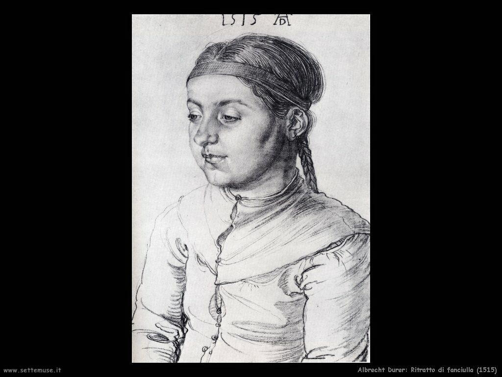 ALBRECHT DURER pittore I ritratti femminili pag.6  907440b9bca5