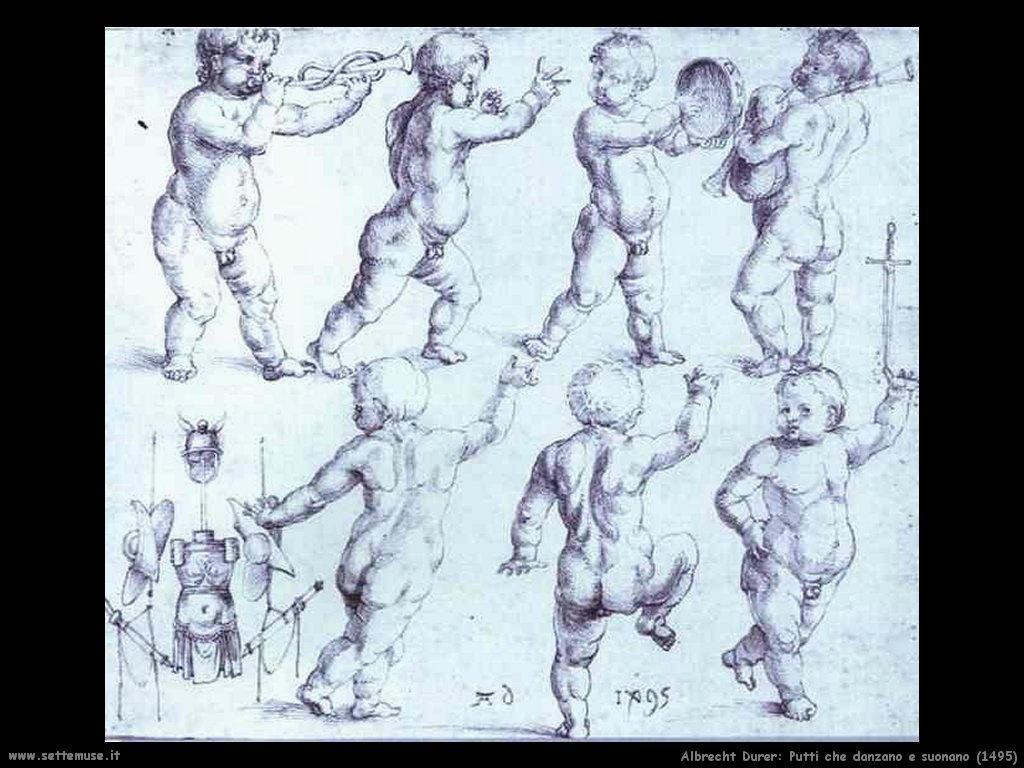 Putti che danzano e suonano (1495)