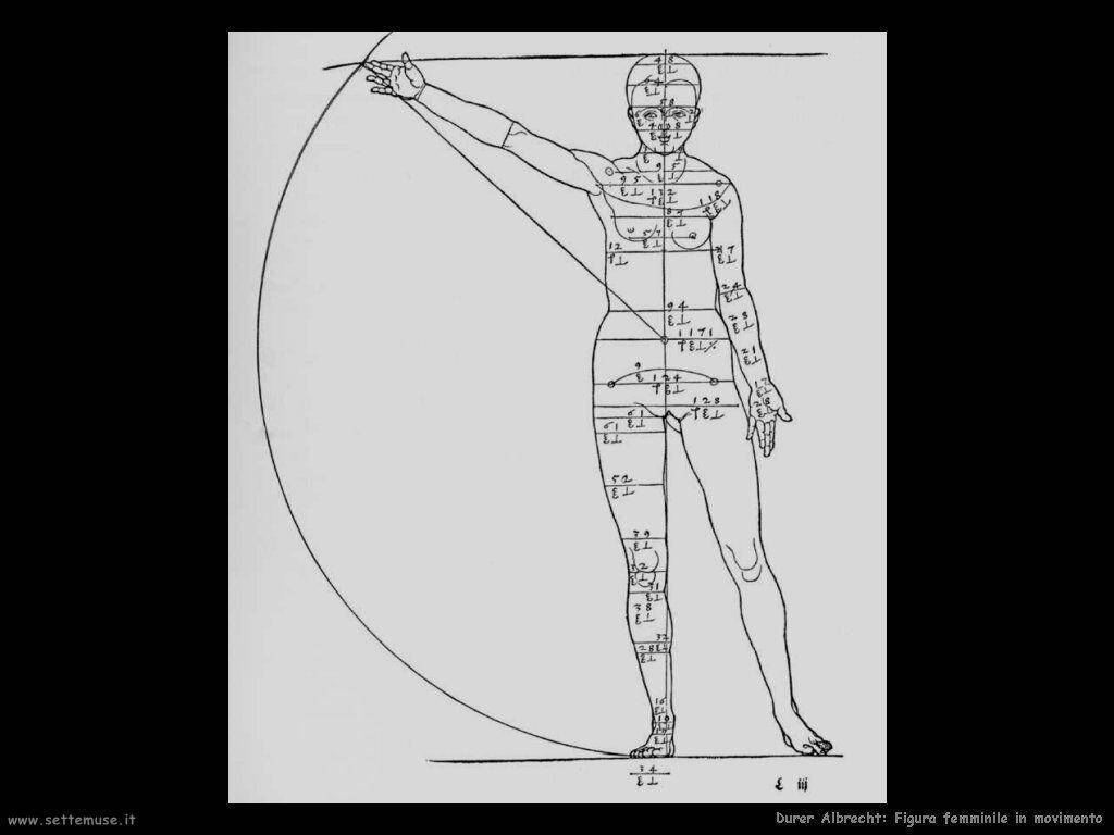 Figura femminile in movimento