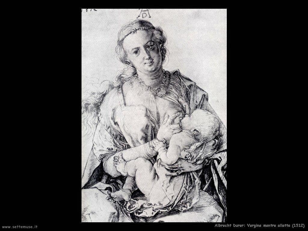 Vergine mentre allatta (1512)
