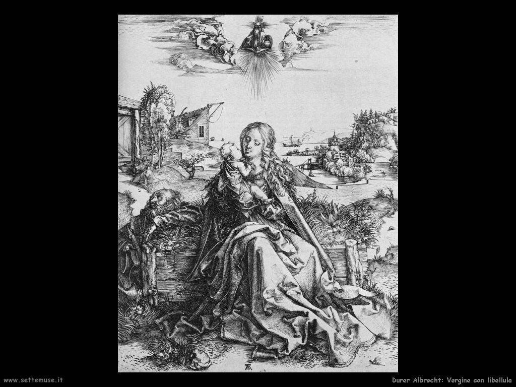 Vergine con libellula