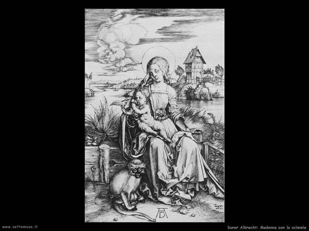 Madonna con la scimmia